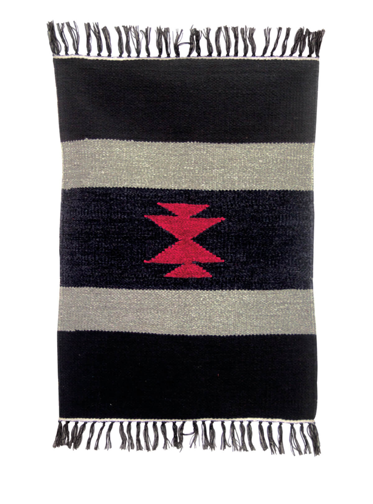 Black Ash Cotton Door Mat