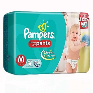 Pampers Pant Style Baby Dry Diaper M (7-12) kg - 40 Pcs