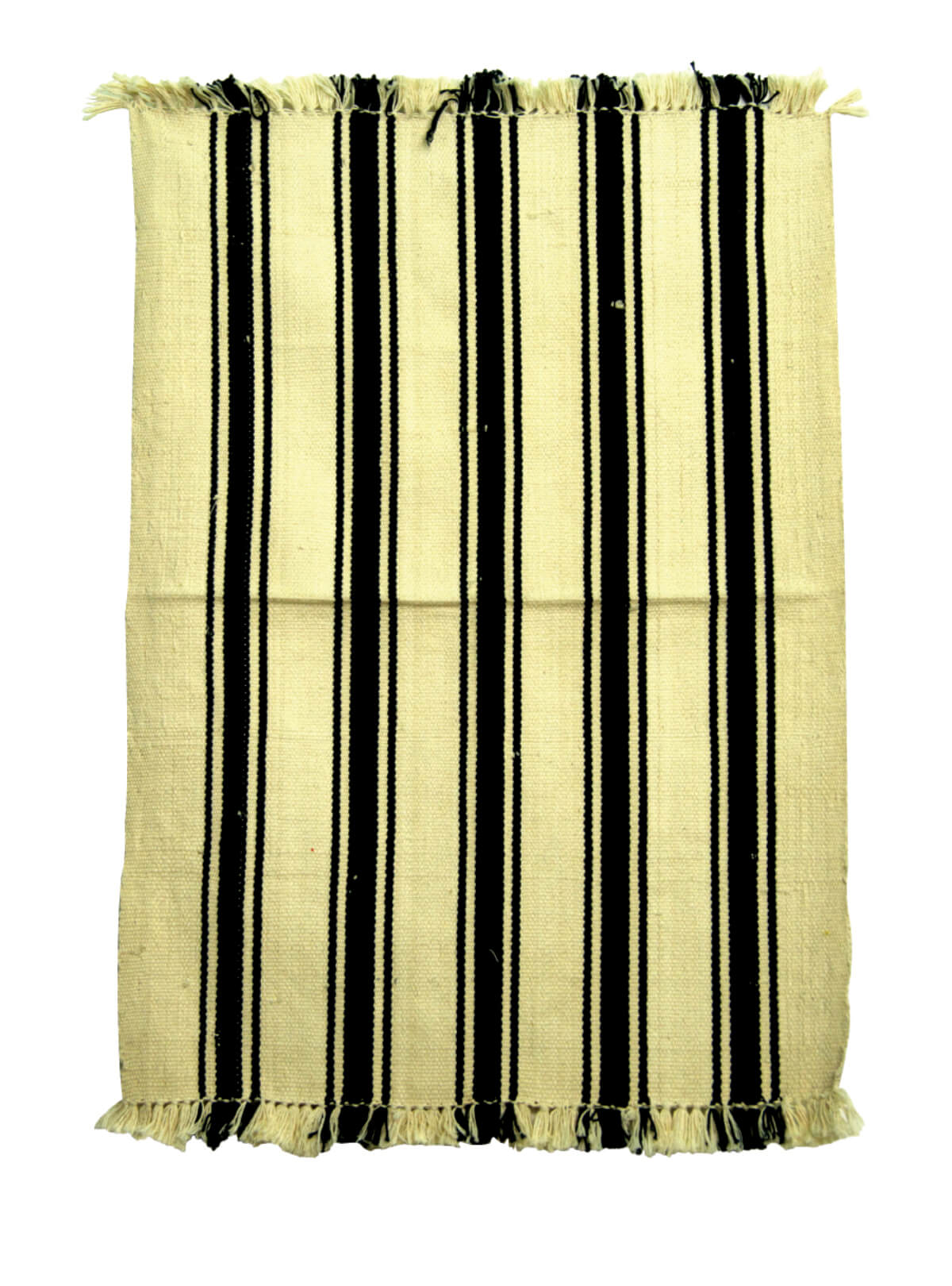 Chiffon & Black Cotton Door Mat