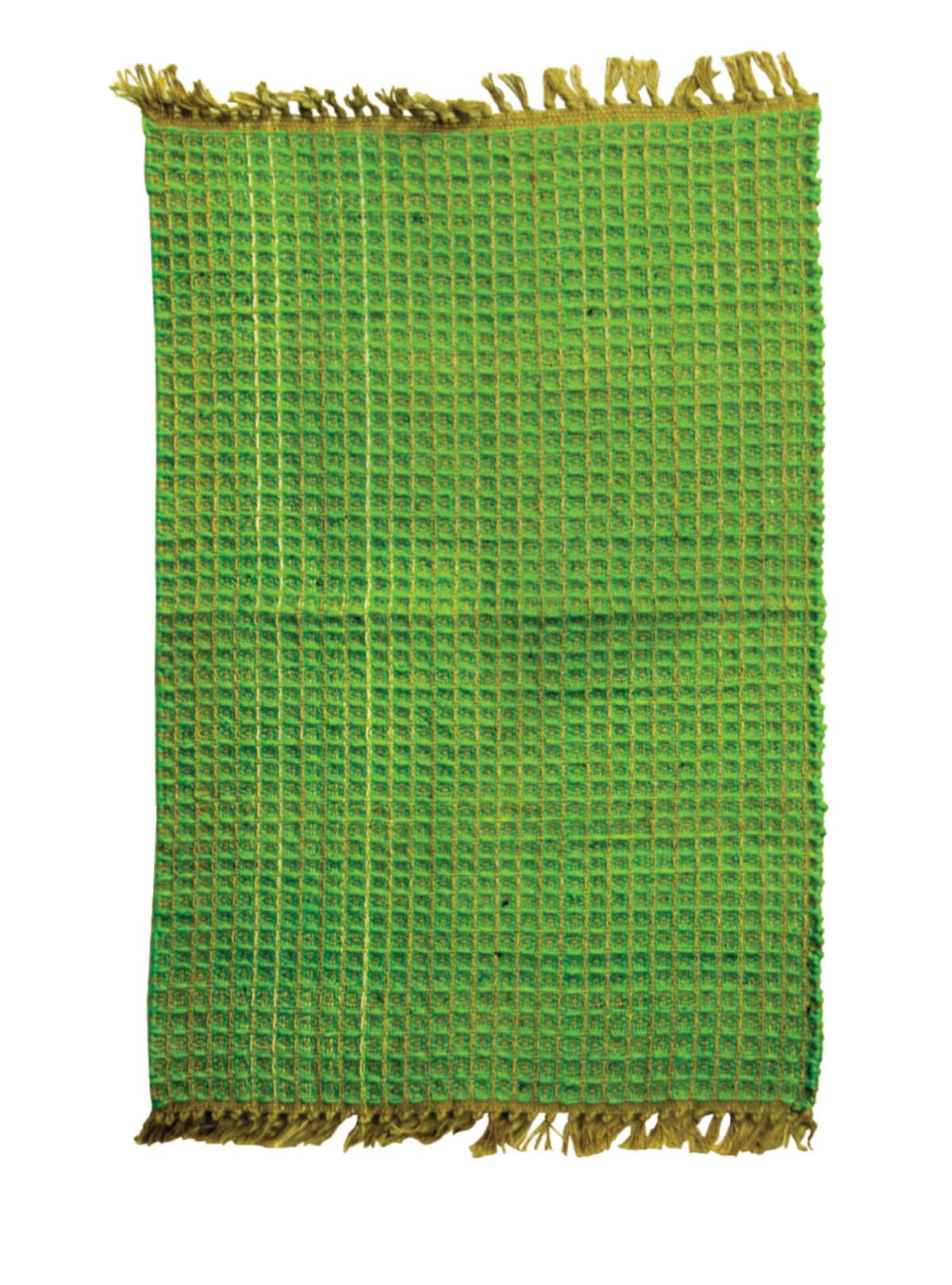 Green Jute Door Mat