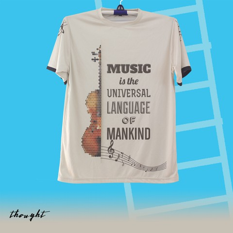 Musically Sublimation T-shirt