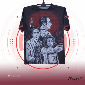 Person of Interest Sublimation T-shirt
