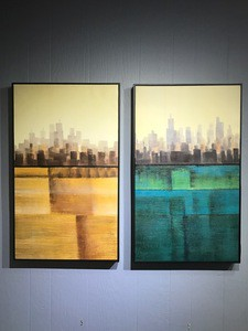 Oil Painting  Wall Display (Set of 2)