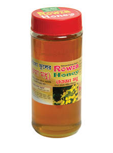 Rowza Mustard Flower Honey 1 Kg