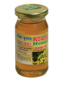 Rowza Mustard Flower Honey 250 gm