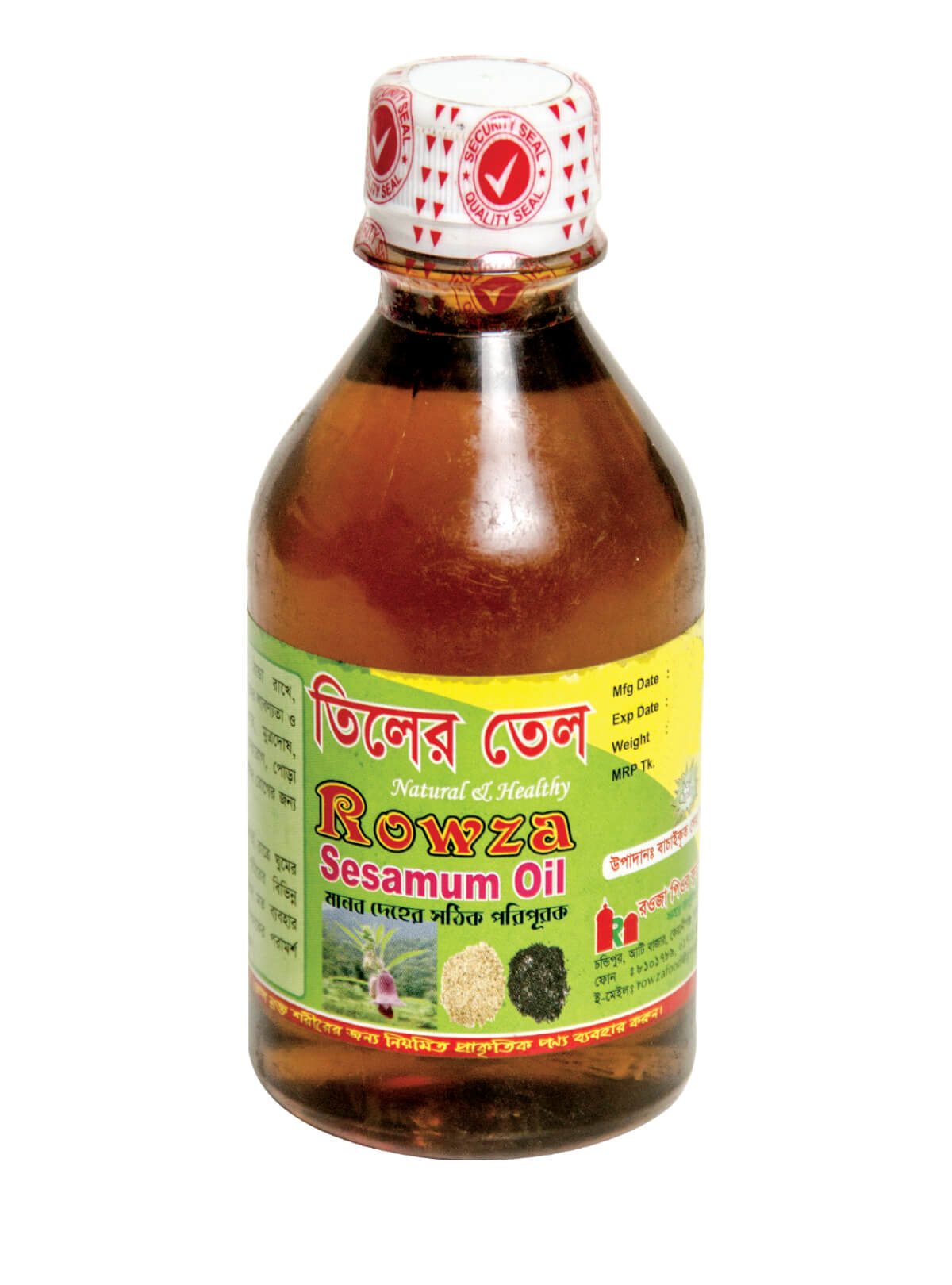 Rowza Sesame Oil 250 ml