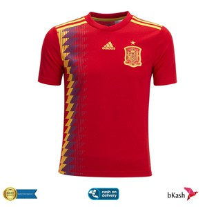 Spain Home Jersey 18