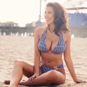Lovebite Bandage Bikini Push Up Swimwear Women Brazilian Bikini Set Striped Bathing Suit