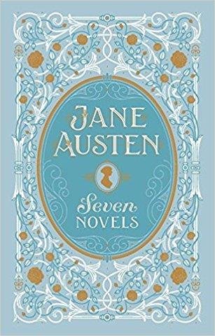 Jane Austen: Seven Novels (Barnes & Noble Leatherbound Classic Collection)