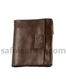 Chocolate Leather Wallet For Man