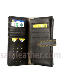 Leather Long Wallet For Man