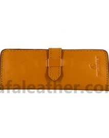 Long Leather Wallet For Man