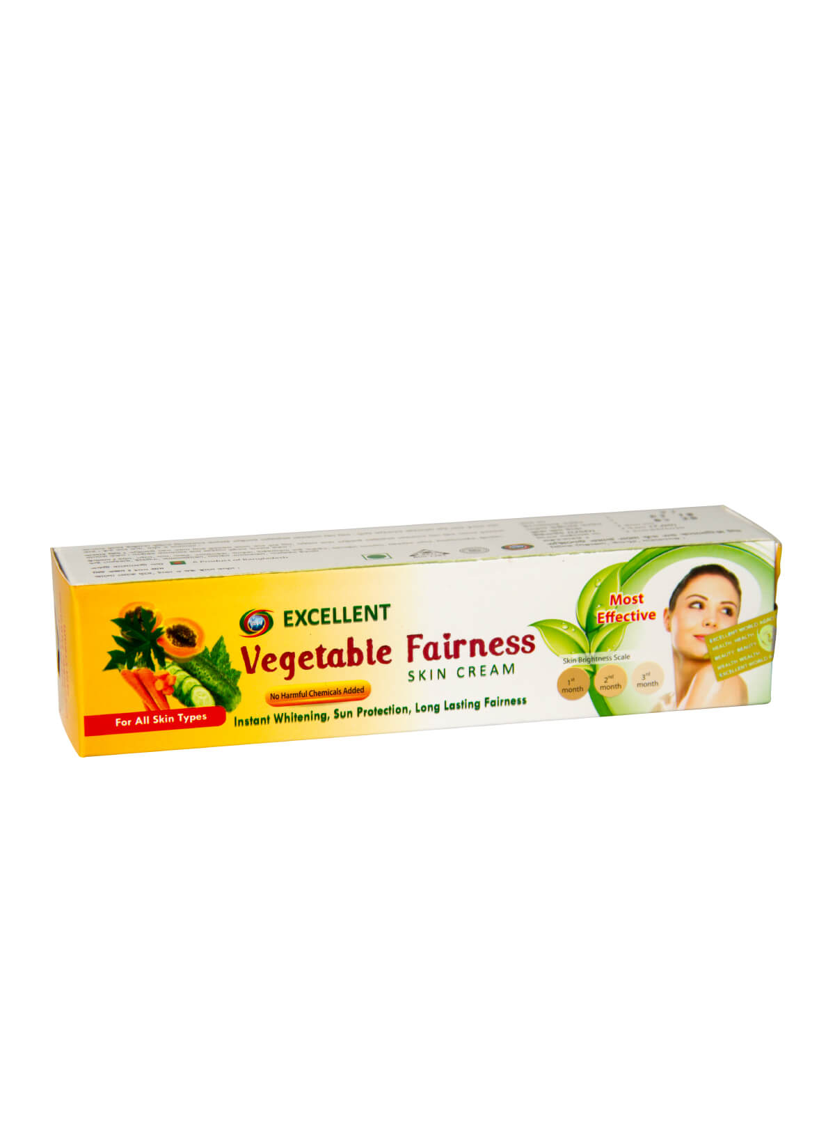 Vegetable Fairness Skin Cream Bd