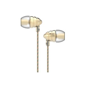 Uiisii US-90 In Ear Headphones HD Stereo Bass with Mic - Gold