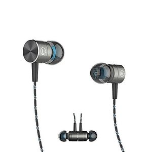 QKZ X41M Magnetic Earphones HIFI Fever In Ear Earphones - Black