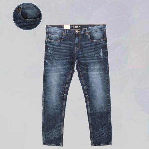 J&J Washed Semi Stress Jeans