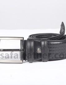 Safa Leather Safa Leather Black Leather Casual Belt For Men