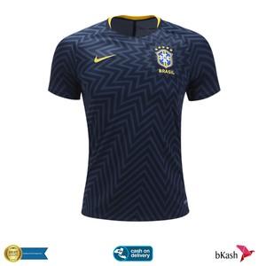Brazil Prematch Training Jersey 2018