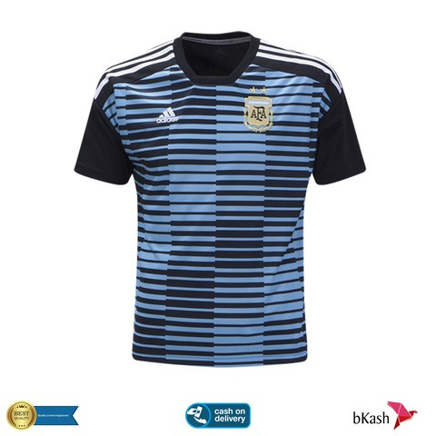 Argentina Prematch Training Jersey 2018