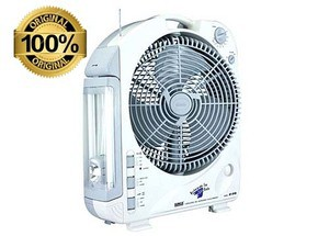 Sunca SF-292A - Dual Battery Rechargeable Fan With Light - 12