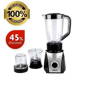 Donlim BL9830-AG Stand Blender (3 in 1) 1.5L - Black