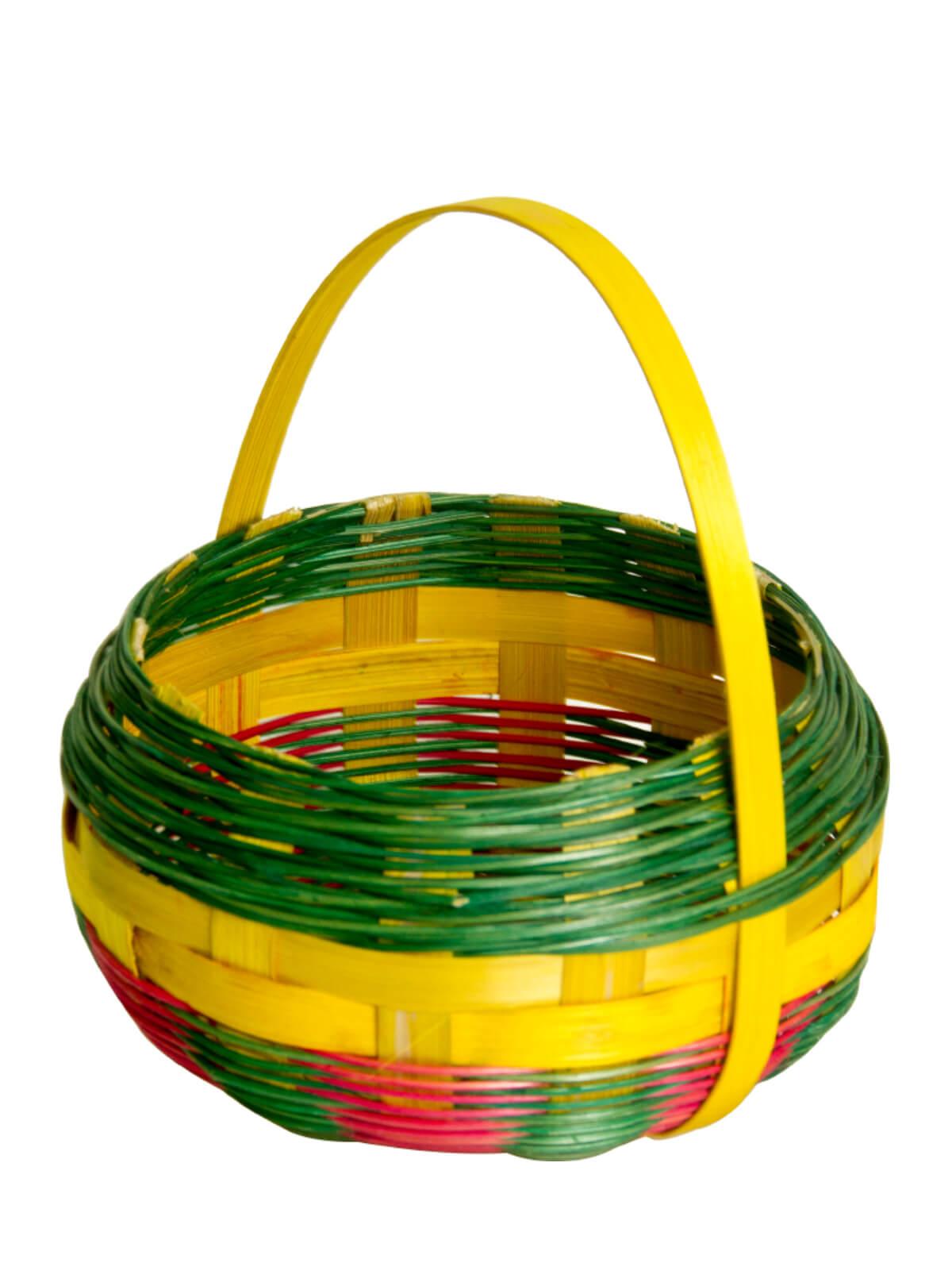Multi-color Round Basket
