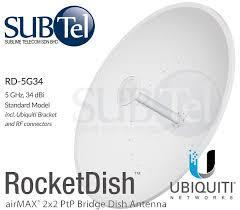 dish antena wifi 34 dbi RD-5G34 Ubiquiti 5 GHz