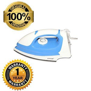 Heigar HGI-210 Heavy Dry Iron - White and Blue
