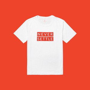 OnePlus T-shirt (White-Red)