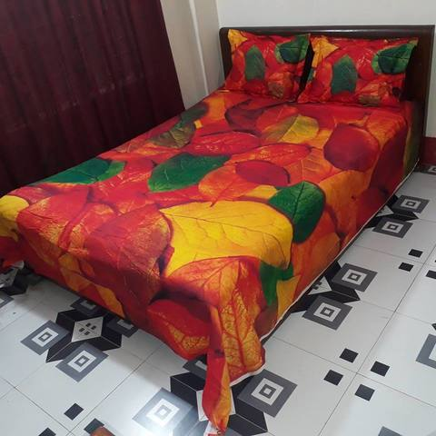 HD Panel Bedsheet with Free Umbrella!!