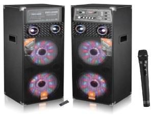DigitalX L8728BT (2.0 DJ-Light Speakers)