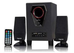 DIGITALX X-L102BT (2.1CH Multimedia Speakers) [W/ or W/O Bluetooth]
