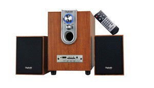 DIGITALX X-L210BT (2.1CH Multimedia Speakers) [W/ or W/O Bluetooth]