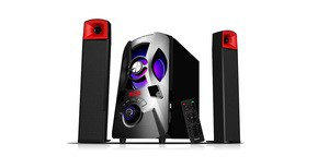 DigitalX X-F981BT 2.1 Multimedia Speakers [W/ or W/O Bluetooth]