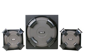 DIGITALX X-M787BT 2.1CH Multimedia Speakers