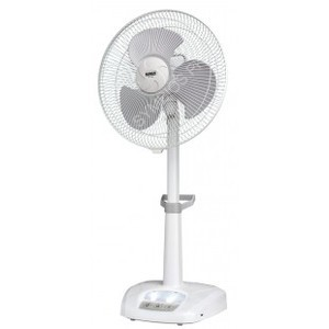 Rechargeable Fan with LED Night light SF-2389 (16