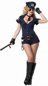 Lovebite Sexy Costumes For Women Arresting Officer Costume Sexy Police Costume Dress