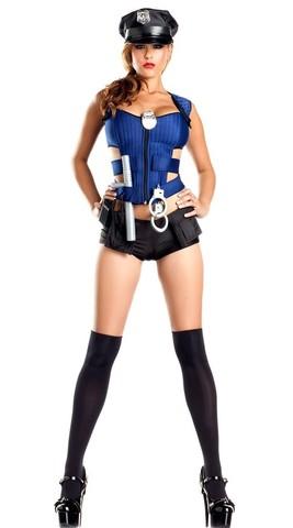 Lovebitebd Police Officer Costume Nightwear For Women