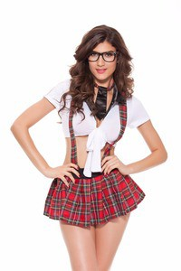Lovebite Lingerie Role Playing Games Uniforms Student Dress Schoolgirl Cosplay Costumes Women