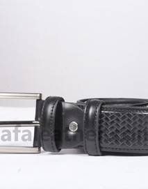Safa Leather Black Leather For Man