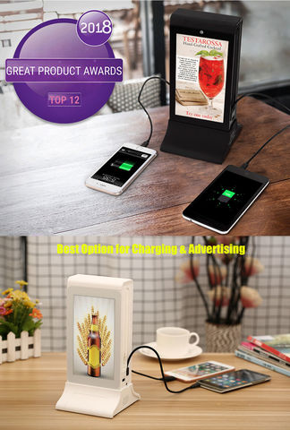 FYDE WiFi Android Table Advertising Player Restaurant Menu - Restaurant table advertising