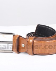 Brown Leather Belt For Man