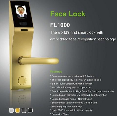 ZKTECO FACE RECOGNITION LOCK – FL1000