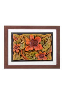 Terracotta Petals Design