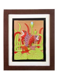 Terracotta Twinfish Design