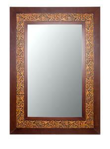 Terracotta Rectangular Mirror