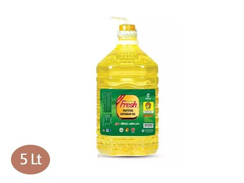 Fresh Soyabean Oil 5 Liter