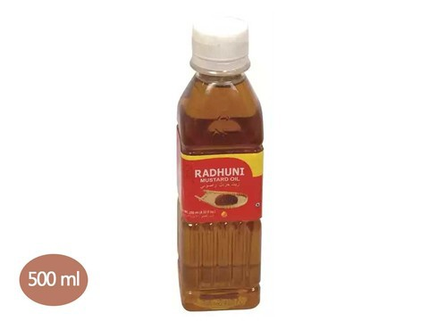 Radhuni Pure Mustard Oil 500ml