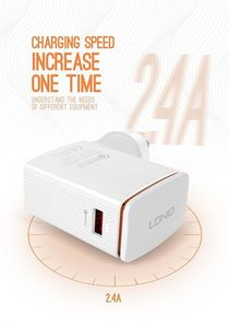 LDNIO QC3 Fast Charger With Braided Cable