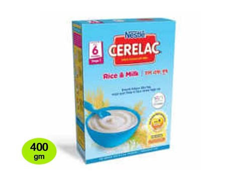 Nestle Cerelac 1 Rice & Milk (6 months +) BIB 400 gm